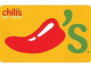 Chili's $50 Gift Card (Email Delivery)