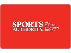 Sports Authority $25 Gift Card (Email Delivery)