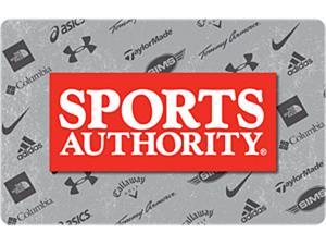 Sports Authority $50 Gift Card (Email Delivery)