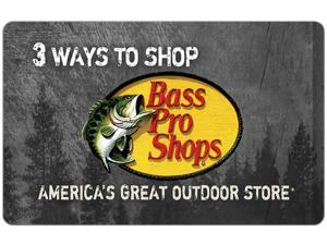 Bass Pro $50 Gift Card (Email Delivery)