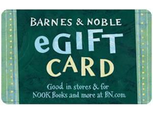 Barnes & Noble $25 Gift Card  (Email Delivery)
