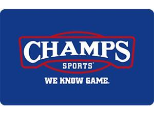 Champs Sports $50 Gift Card - (Email Delivery)