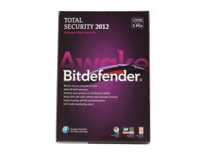 bitdefender Total Security 2012 - 3 User - 2 Years