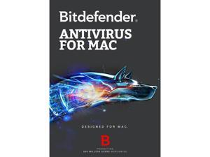 Bitdefender Antivirus for Mac - 3 Macs / 1 Year - Download