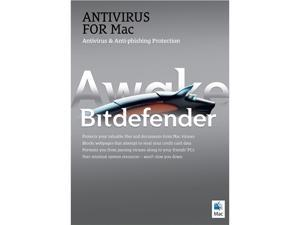 Bitdefender Antivirus for Mac - 3 Macs / 2 Years - Downloa