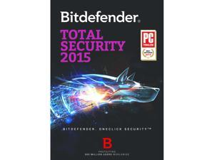 Bitdefender Total Security 2015 3 PCs / 2 Year - Download