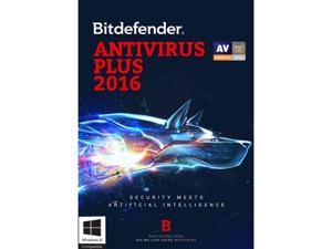 Bitdefender Antivirus Plus 2016 - 3 PCs 1 Year - Download