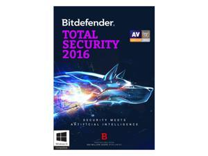 Bitdefender Total Security 2016 - 1 PC 1 Year - Download