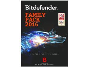 Bitdefender Family Pack 2016 1 Year Unlimited - Download