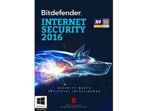 Bitdefender Internet Security 2016 - 1 PC