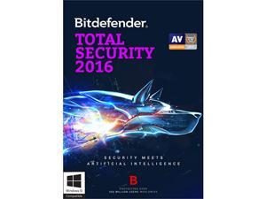 Bitdefender Total Security 2016 - 1 PC