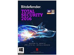 Bitdefender Total Security 2016 - 3 PCs / 2 Year