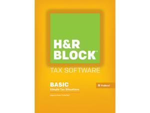 H&R BLOCK Tax Software Basic 2015 - Mac Download