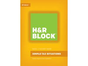 H&R BLOCK Tax Software Basic 2016