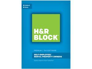 H&R Block Tax Software Premium 2016 + $20 Gift Card