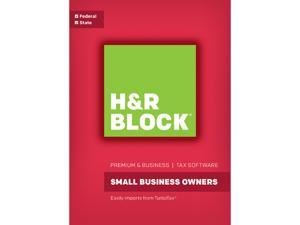H&R BLOCK Tax Software Premium & Business 2016