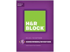 H&R BLOCK Tax Software Deluxe + State 2016 (Bundle)