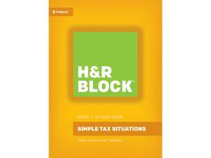 H&R BLOCK Tax Software Basic 2016 Mac - Download
