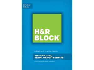 H&R BLOCK Tax Software Premium 2016 Mac - Download