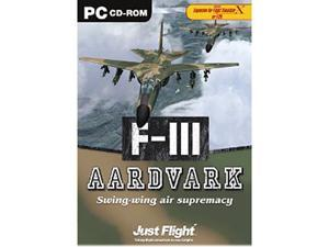F-111 Aardvark Expansion Pack for Flight Simulator - Black PC Game