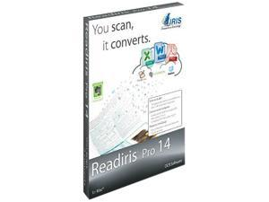 IRIS Readiris Pro 14 OCR for Mac OSX  - Download