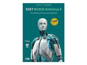 ESET Nod32 Antivirus 4.0 - 3 User (French/English)