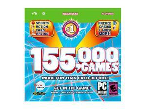 155,000 GAMES PC Game