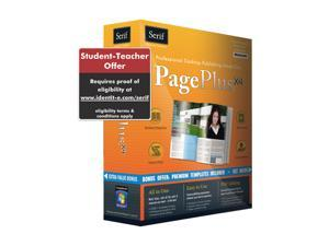 Serif Pageplus X4 Student & Teacher Edition