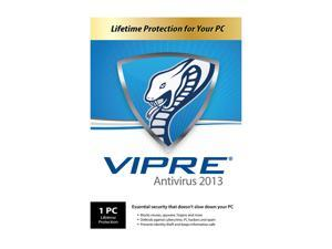 VIPRE Antivirus 2013 - 1 PC - PC Lifetime - Product Key Card (no media)