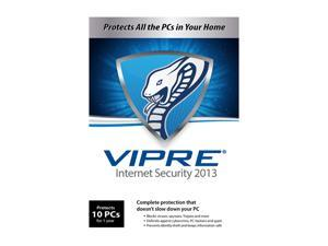 VIPRE Internet Security 2013 - 10 PCs - Product Key Card (no media)