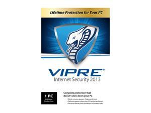 VIPRE Internet Security 2013 - 1 PC - PC Lifetime - Product Key Card (no media)