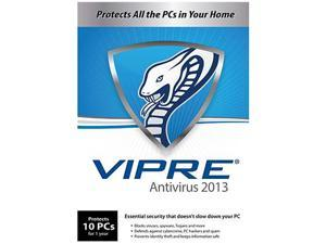 GFI VIPRE Antivirus 2013 - 10 PCs - 1 Year