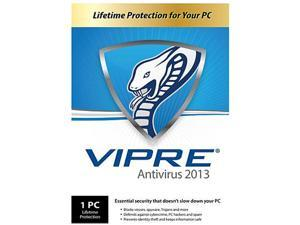 GFI VIPRE Antivirus 2013 -  1 PC - PC Lifetime