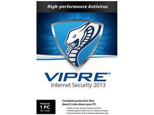 GFI VIPRE Internet Security 2013 - 1 PC - 1 Year