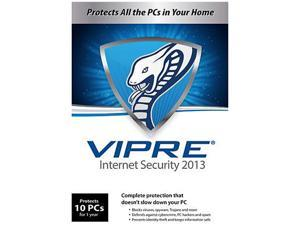 GFI VIPRE Internet Security 2013 - 10 PCs - 1 Year