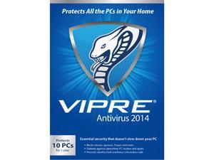 ThreatTrack Security VIPRE AntiVirus 2014 - 10 PC -1 Year - Download