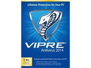 ThreatTrack Security VIPRE AntiVirus 2014 - 1 PC - PC Lifetime - Download