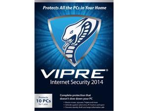 ThreatTrack Security VIPRE Internet Security 2014 - 10 PC - 1 Year - Download