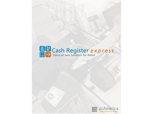 PC America PCA-LIC-PRO-CRE Cash Register Express Professional Edition with Customer Tracking – Single Terminal