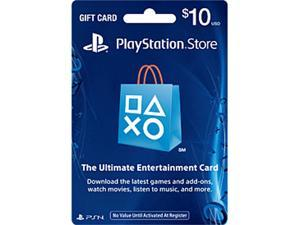 PlayStation Store $10 Gift Card (Email Delivery)
