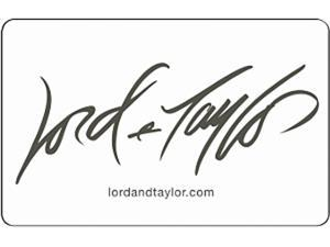 Lord & Taylor $25 Gift Card (Email Delivery)