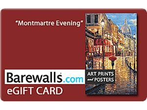 Barewalls $50 Gift Cards (Email Delivery)