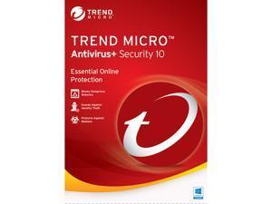 TREND MICRO Antivirus + Security 10 - 1 PC