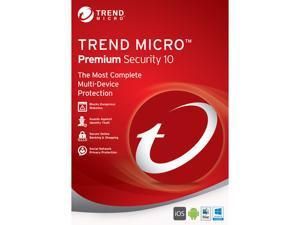 TREND MICRO Premium Security 10 - 5 PCs