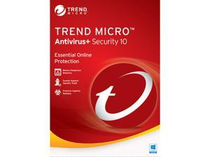 TREND MICRO Antivirus + Security 10 1 User - Download