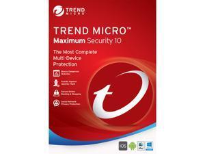 TREND MICRO Maximum Security 10 1 User - Download