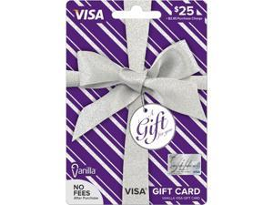 Visa $25 Gift Card (Metallic)