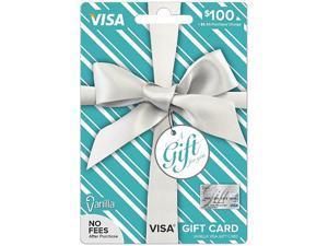 Visa $100 Gift Card (Metallic)