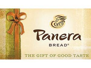 Panera $50 Gift Card (Email Delivery)