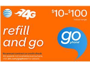 AT&T Prepaid Wireless $50 Refill Card (Email Delivery)